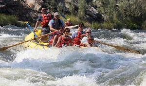 Rafting Klamath River