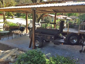 Traditional Western BBQ at California's Guest Ranch