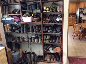 Ranch House Boot Room