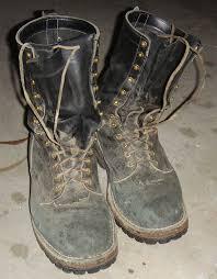woodsman's boot