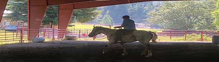 Marble Mountain Ranch Arena Riding