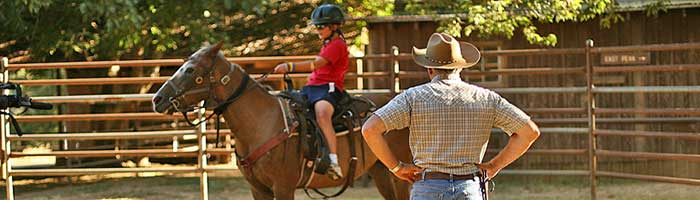 Marble Mountain Ranch Youth Riding Program