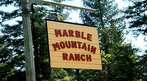 Marble Mountain Sign